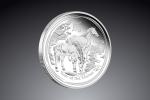 1/2 Oz Australian Lunar Horse (kôň) 2014  / Striebro / 999/1000