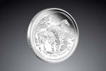 5 Oz Australian Lunar Horse (kôň) 2014  / Striebro / 999/1000