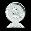 1 Oz Australian Kookaburra Ø 40,60 mm / : 4,00 mm / Striebro / 999/1000