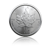 1 Oz Maple Leaf 2020 Ø 38,00 ×  3,10 mm / Striebro / 999,9/1000