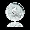 10 Oz Australian Kookaburra Ø 75,10 ×  7,00 mm / Striebro / 999/1000